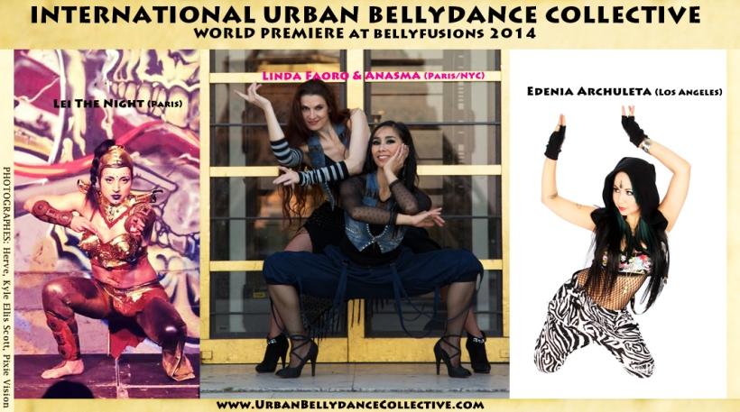 International Urban Bellydance Collective- wolrd premiere at BF2014