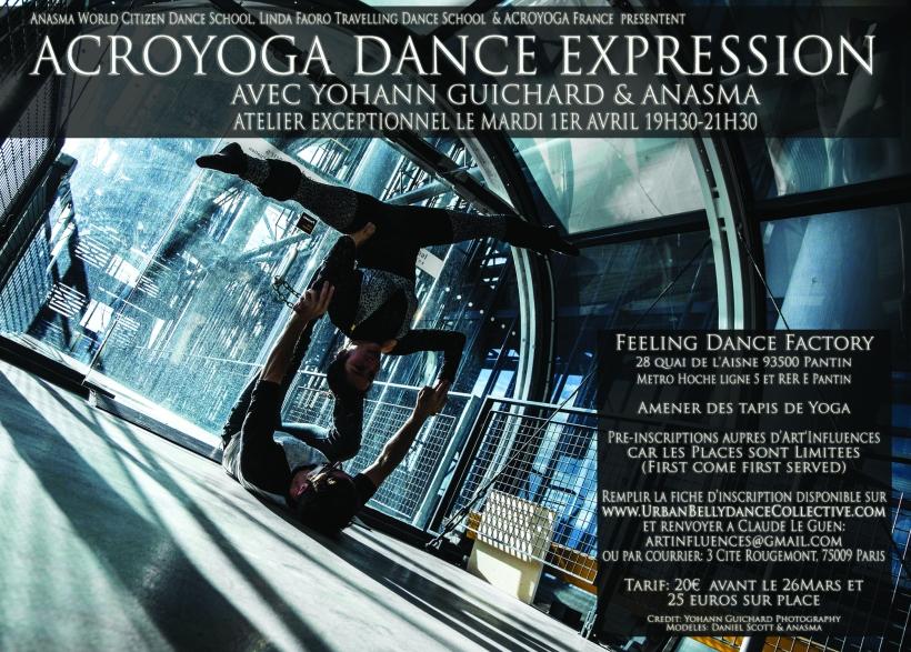 AcroYoga Dance Expression- Anasma and Yohann Guichard