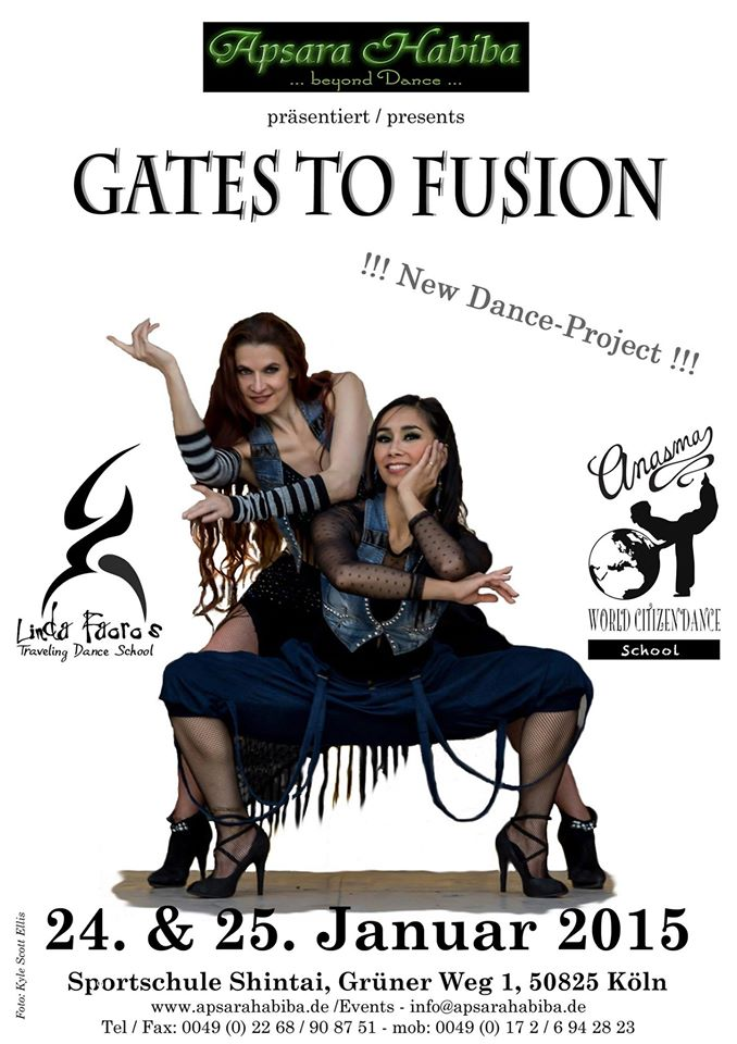 GATES TO FUSION- ANASMA AND LINDA FAORO IN KOLN 2015