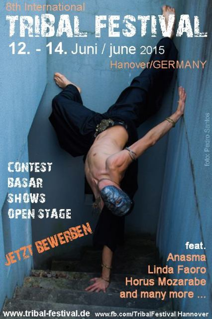 tribal hannover festival 2015 WITH ANASMA AND LINDA FAORO