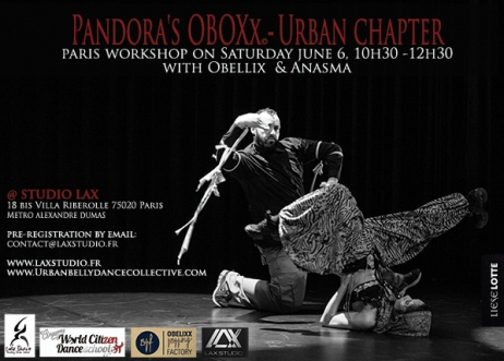 20150606 ANASMA AND OBELLIX flyer-a6 Saturday June 6 2015 Paris v2 LD